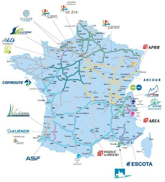 aumento de peajes en francia por concesionarias