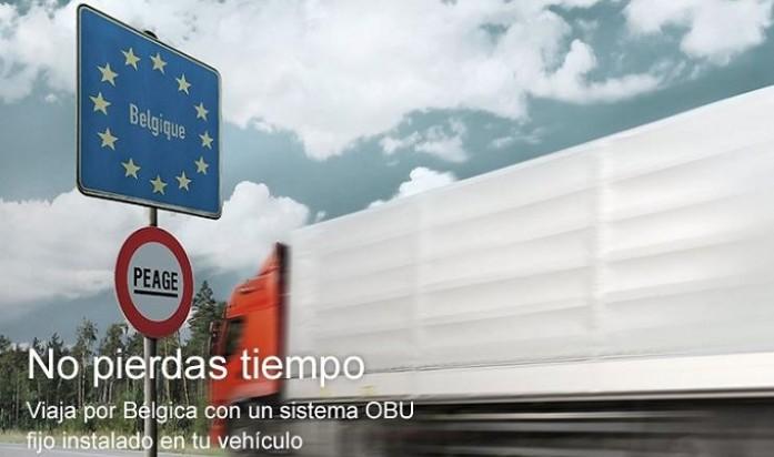 comunicado union de pequeños transportistas peaje en belgica