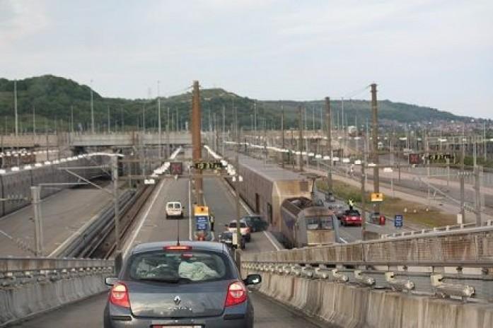 problemas circulacion eurotunel calais Francia