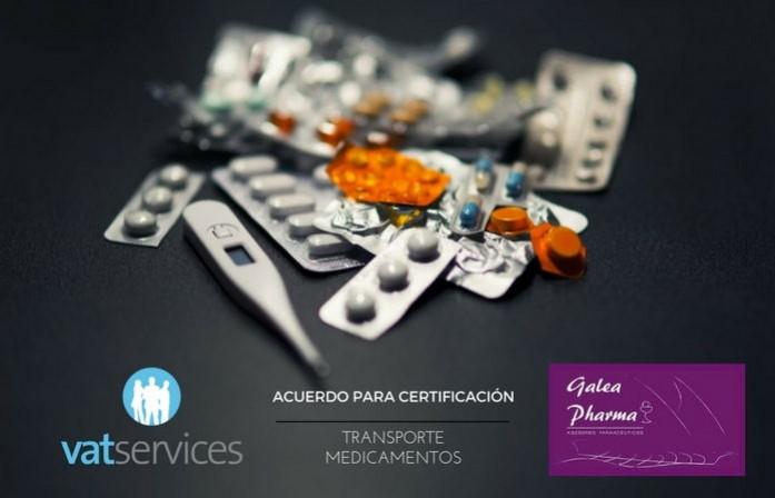 certificacion transporte de medicamentos galea pharma