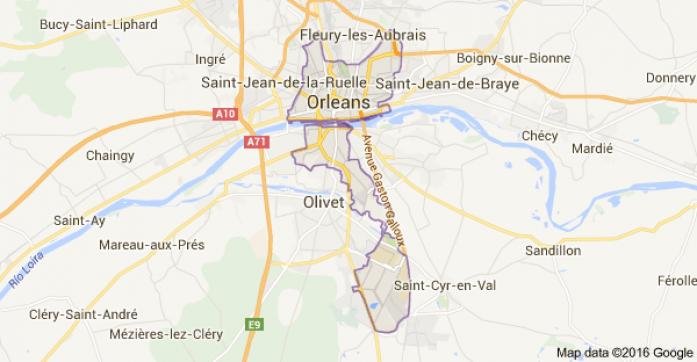 restricciones circulacion francia inundaciones Orleans