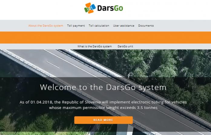 nuevo peaje en Eslovenia Vatservices DarsGo